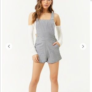 Forever 21 Contemporary Overall shorts
